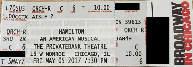 How To Enter The Hamilton Digital Lottery Chicago On The