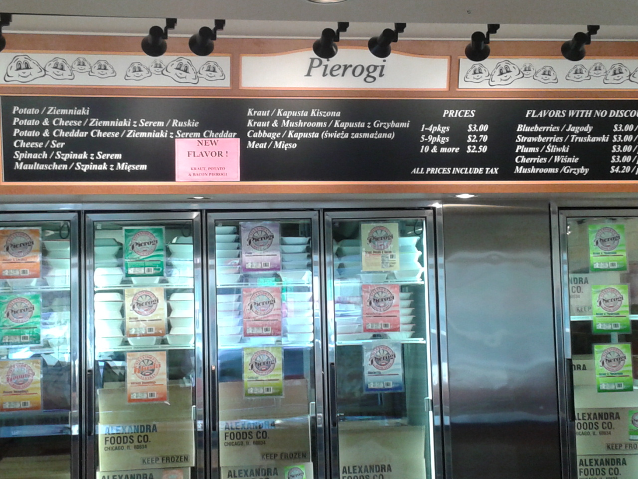 Chicago Outlet Store Review: Alexandra's Pierogis