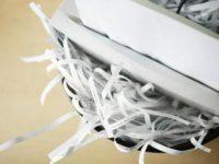 Free paper shredding at Staples