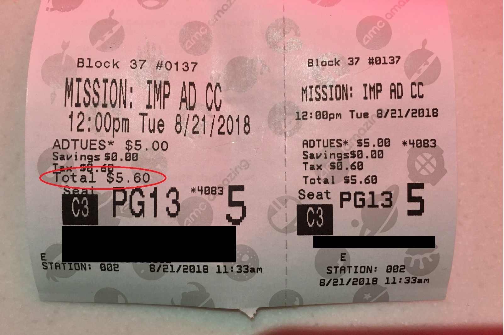 Amc Theaters 5 Ticket Tuesdays Chicago On The Cheap