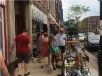 Andersonville Chicago Summer Sidewalk sale