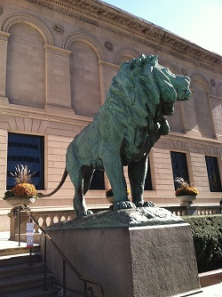 Art Institute of Chicago South Lion