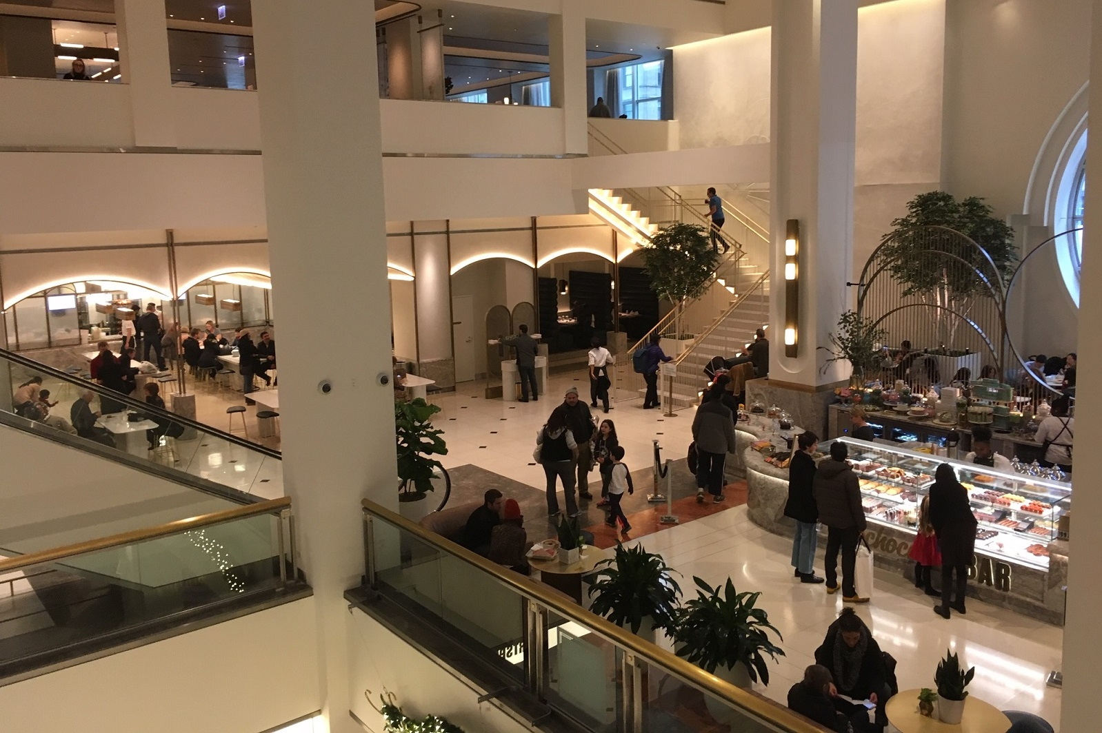 Fabulous Aster Hall Food Hall Now Open Chicago On The Cheap