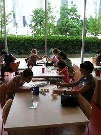 At Institute of Chicago 2