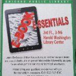 Harold Washington Library: eBook essentials downloadable media basics