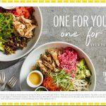 California Pizza Kitchen: BOGO free Power Bowl