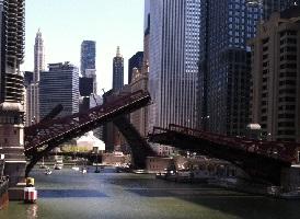 Chicago Clark Dearborn Bridge
