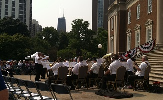 Chicago History Museum July 4 band
