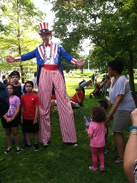 Chicago History Museum Uncle Sam July 4