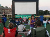 Free outdoor movie Bucktown
