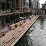Chicago Riverwalk Opening Day