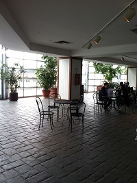 Dining Area in Crystal Garden
