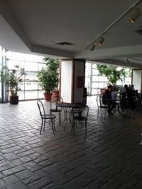 Dining Area in Crystal Garden
