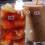 Dunkin Donuts Medium Iced Coffee or Tea Deal