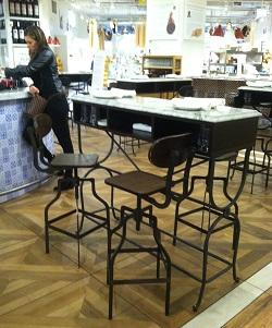 Eataly La Piazza seating