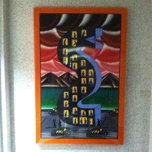 Harold Washington Library Art