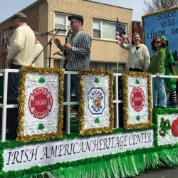 Irish American Heritage Center Parade Float