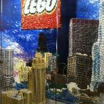Free Lego build at Water Tower Place store
