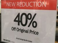 30% discount at Macy's