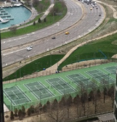 Maggie Daley Tennis courts