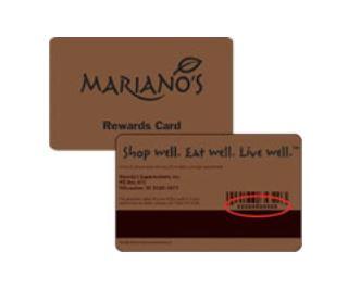 Marianos rewards