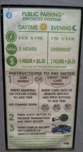 Meter parking Chicago