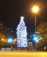 Millennium Park Christmas Tree Lighting Nov 18 - Chicago on the Cheap
