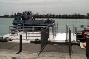 Navy Pier Water Taxi Stop