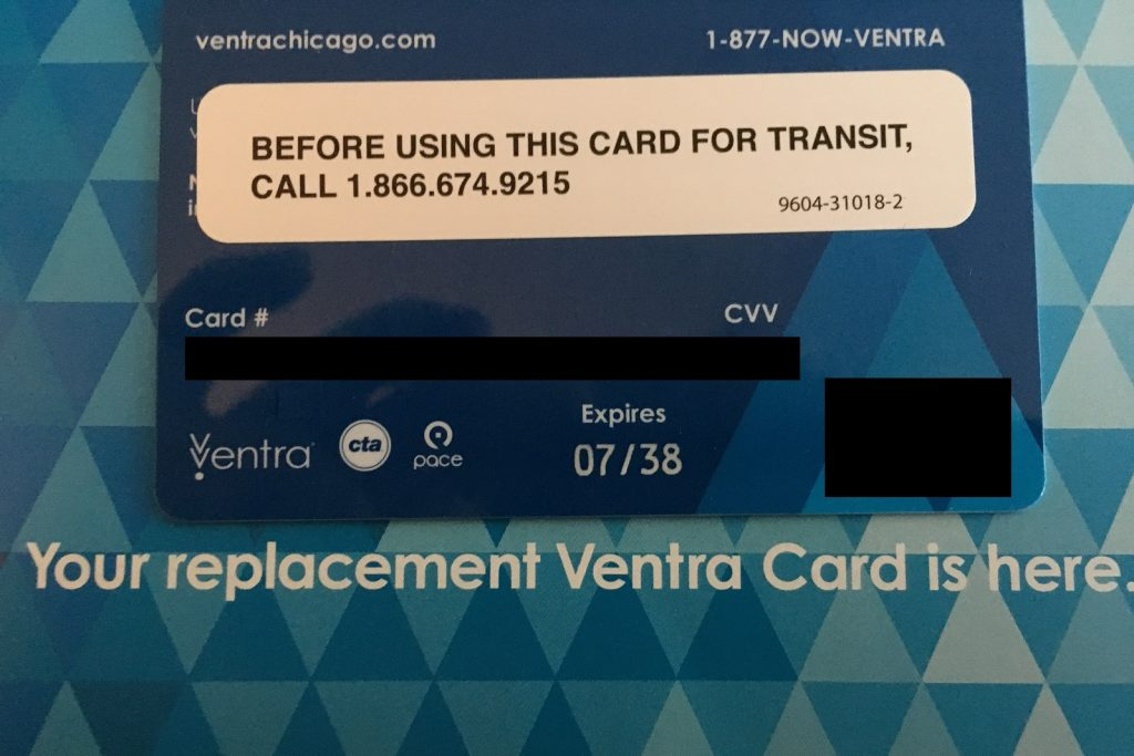 Online dating ventra card