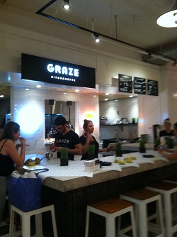 Revivial Food Hall Graze Kitchenette