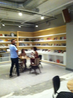 Revivial Food Hall Reading Room