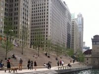 Participate in free Chicago Riverwalk talk
