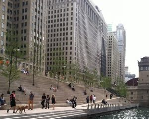 River Theater Chicago Riverwalk