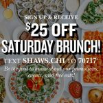 Shaw's Crab House Brunch Deal