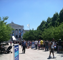 Shedd Aquarium Free Day line