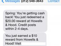 Join Spring Rewards: Get $50 free