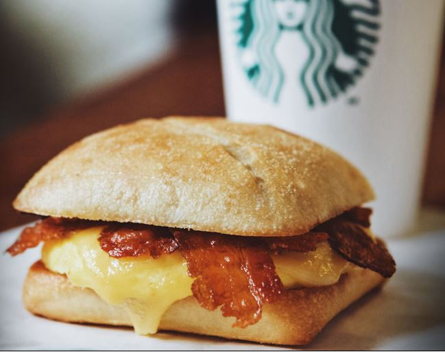 Starbucks Breakfast Deal