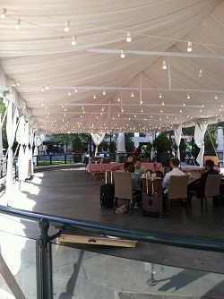 The Plaza at Park Grill Overflow tent