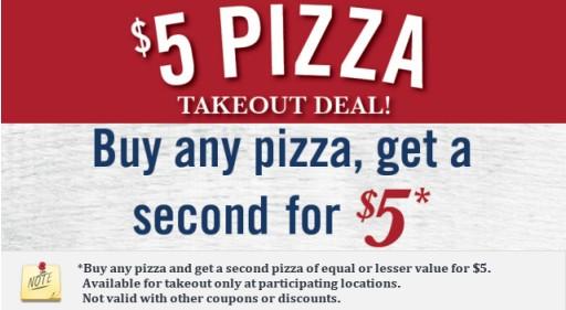 Pizzeria uno coupons