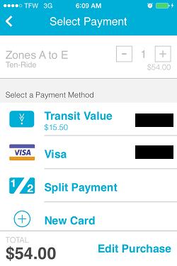 Ventra App Metra Ticket screen 12