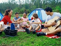 Chicago Park District low cost camping