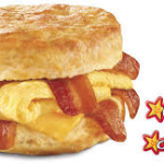$1 Off an X-tra Bacon Egg & Cheese Biscuit Combo at Hardee's