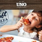 Kids eat free at Uno Pizzeria & Grill