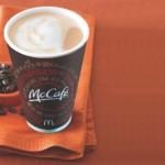 Get free coffee at McDonald's