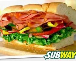 Subway's $6 Footlong Sub after 4 p.m.
