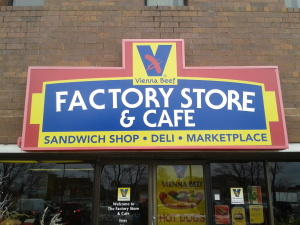 factory outlet mall b1me  Chicago Outlet Store Review: Vienna Beef Factory Store