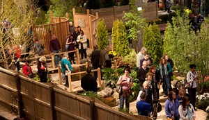 Discount tickets to Chicago Flower and Garden show Chicago on
